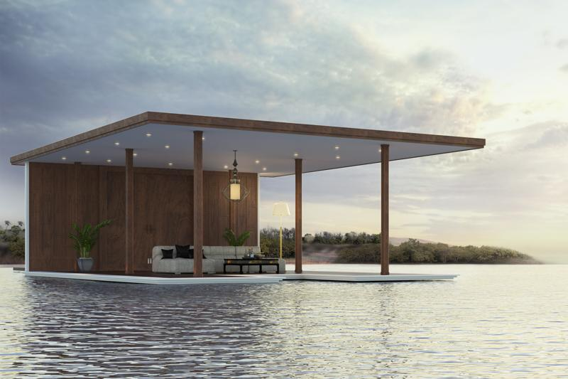 House over water