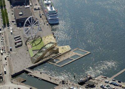 Helsinki Allas, 3D design by Marintek & Huttunen-Lipasti-Pakkanen