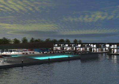 Himki Marina 3D design by Marina Housing