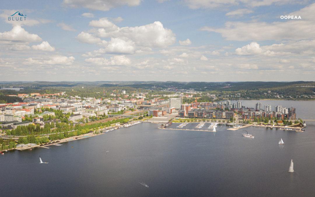 Lutakko harbour will be floating in the future