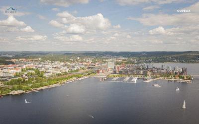 Jyväskylän satama-alue on tulevaisuudessa kelluva